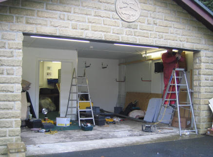 Sectional Garage Doors Suppliers Fitters In Leeds Wetherby